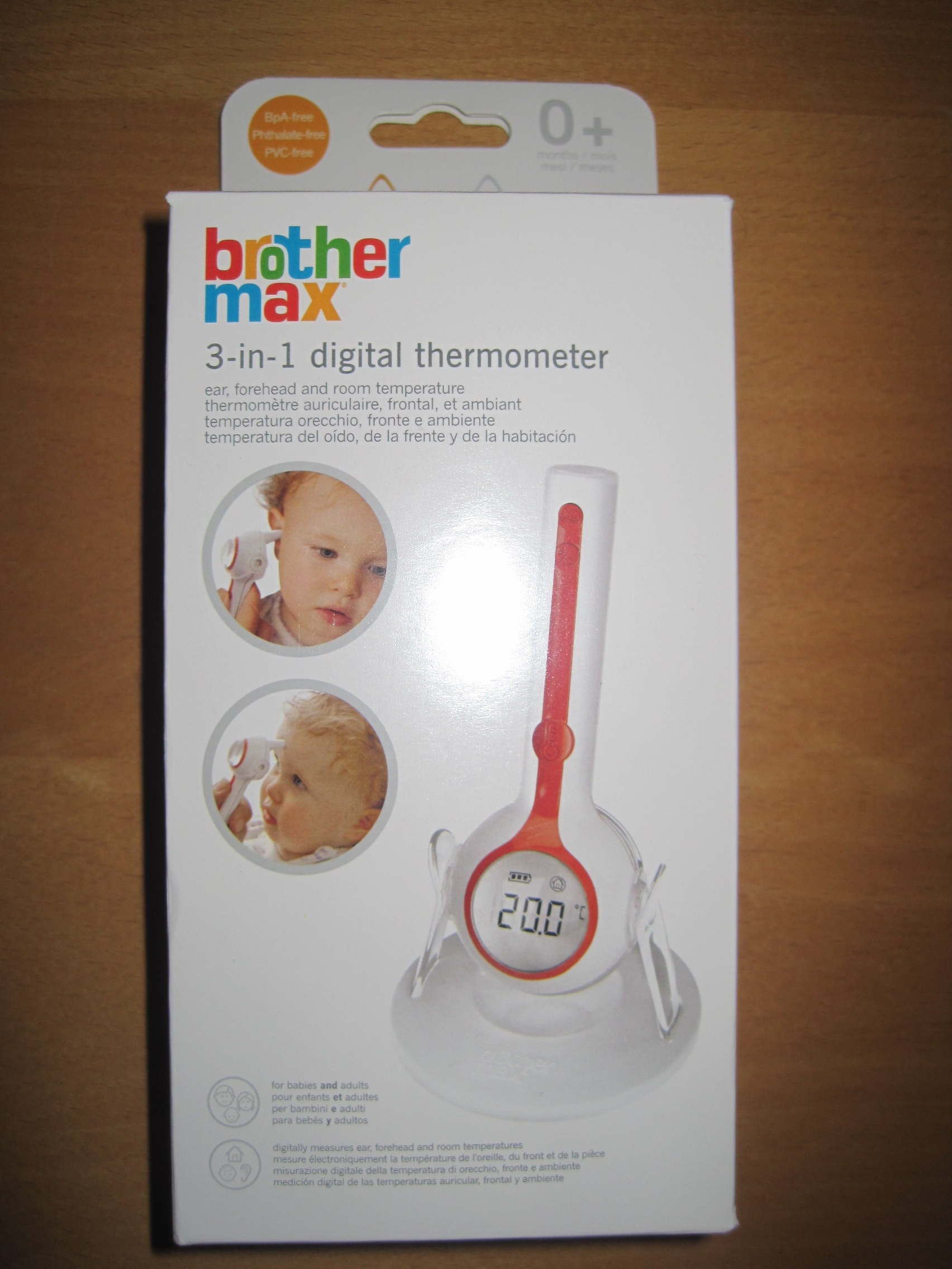 brother max 3-in-1 thermometer